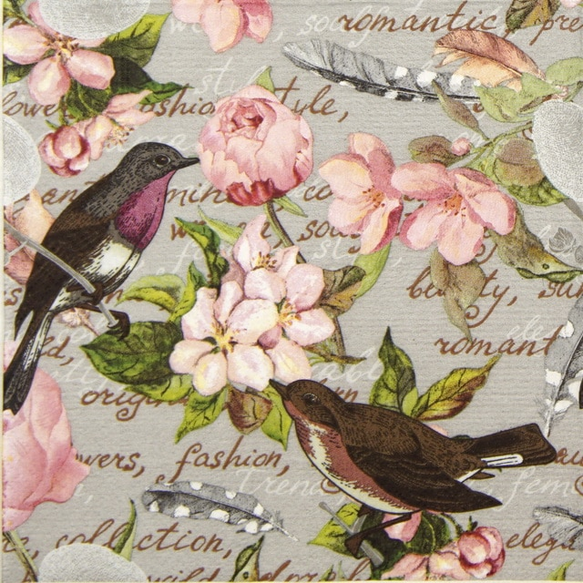 Lunch Napkins (20) - Birds of a feather