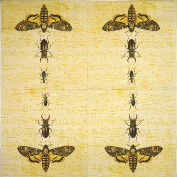 Lunch Napkins (20) - Bugs