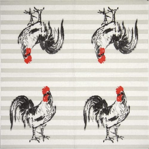 Paper Napkin - Rooster