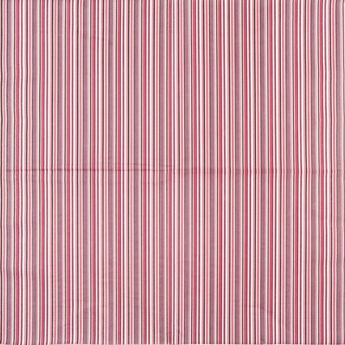 Paper Napkin - Dark Pink Striped