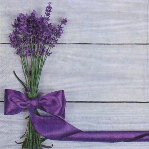 Paper Napkin - Lavender Bow