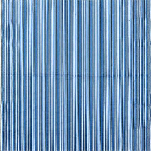 Paper Napkin - Dark Blue Striped