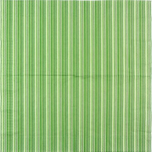 Lunch Napkins (20) - Green Striped