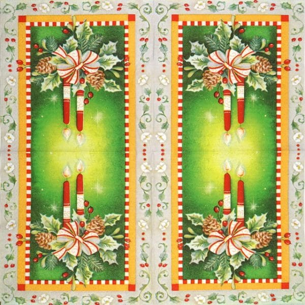 Lunch Napkins (20) - Christmas Decoration