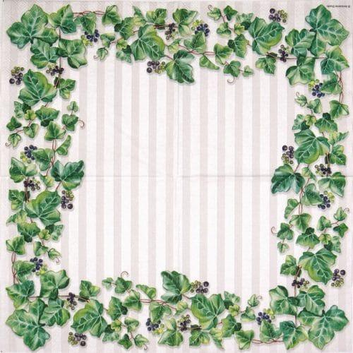 Paper Napkin - Hedera
