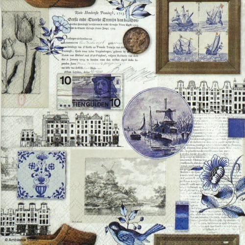 Paper Napkin - Blue Holland