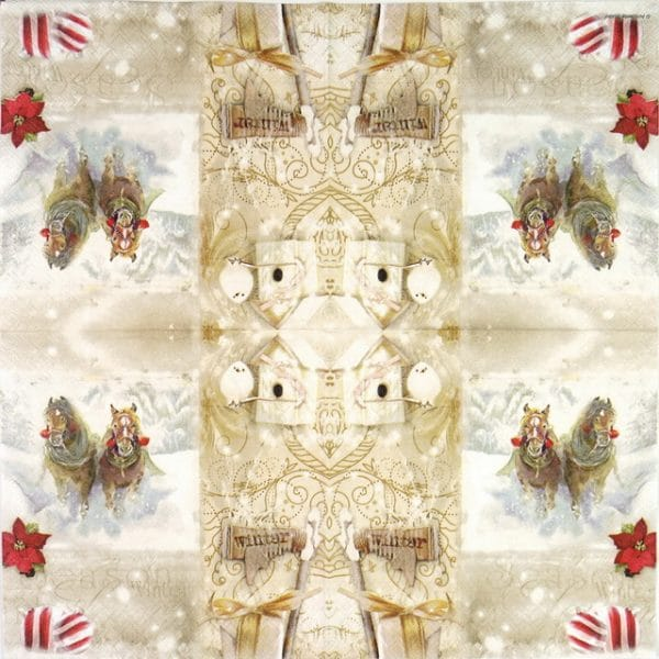 Paper Napkin - Christmas Season