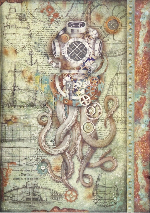 Rice Paper - Sea World octopus