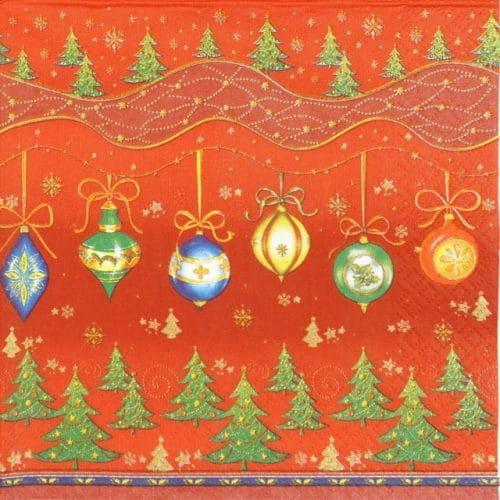 Paper Napkin - Christmas Motif