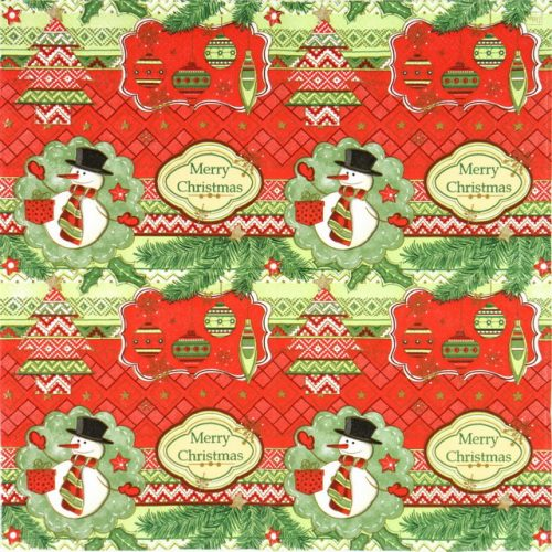 Paper Napkin - Merry Christmas_Daisy_SDGW003701