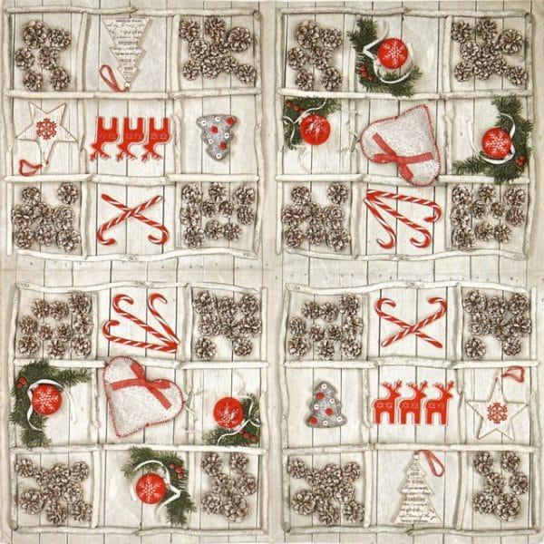 Paper Napkin - Handmade X-Mas Decorations