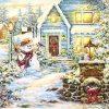 Paper Napkin - Christmas Evening