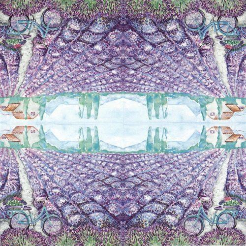 Paper Napkin - Lavender View
