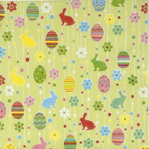 Paper Napkin - Easter pleasure