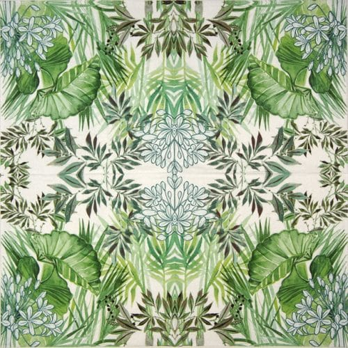 Paper Napkin - Tropical Plants