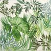 Paper Napkin - Tropical Plants