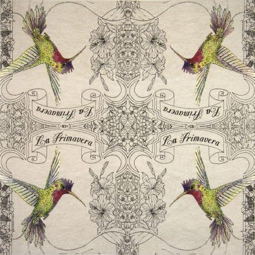 Paper Napkin - Charlotte Galloux: La Primavera