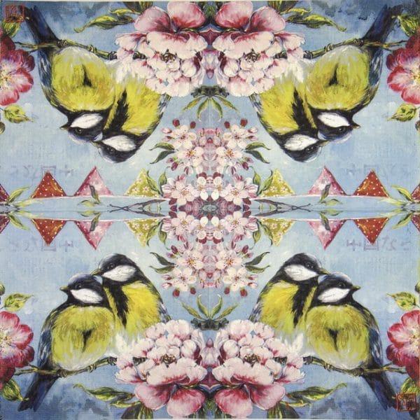Lunch Napkins (20) - Sophie Adde: Printemps