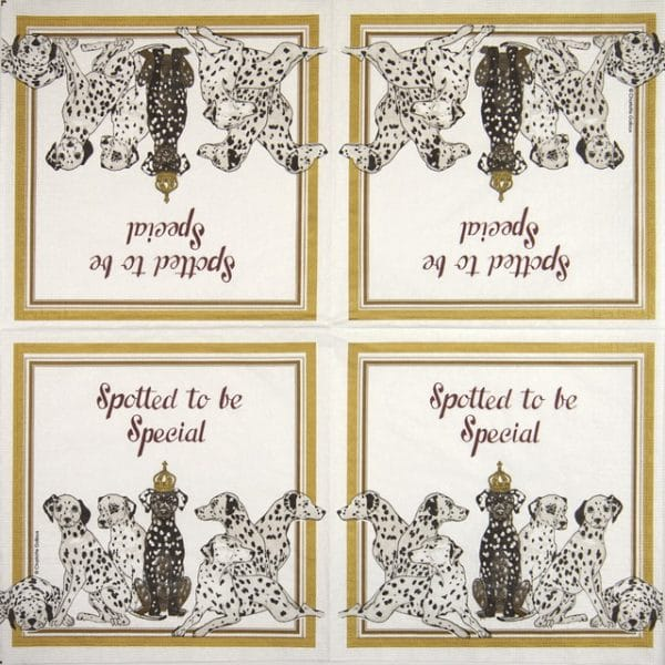 Paper Napkin - Charlotte Galloux: Spotted to be special