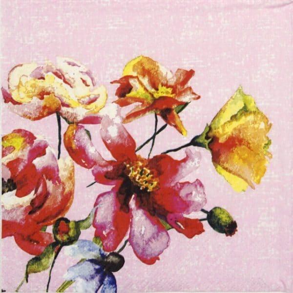 Lunch Napkins (20) -  Wild Florals