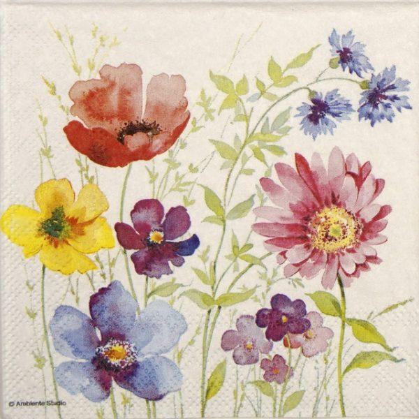 Paper Napkin - Aquarell Meadow