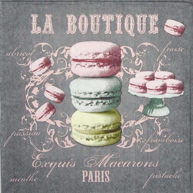 Paper Napkin - La Boutique