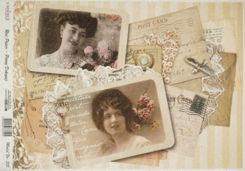 Rice Paper - Old Postcards