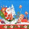 Paper Napkin - Christmas Santa