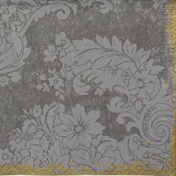 Paper Napkin - Royal Grey