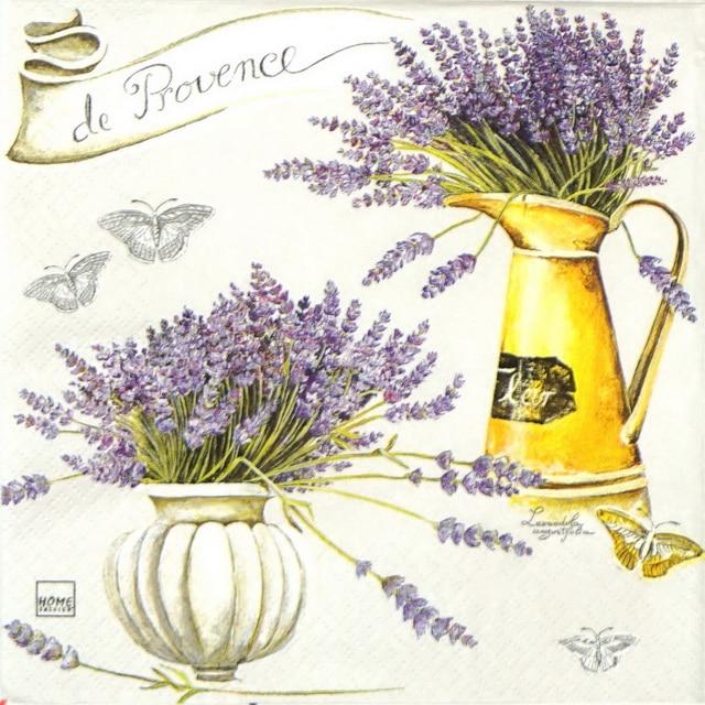 Paper Napkin - Provence Lavenders