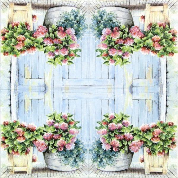 Paper Napkin - Cottage Hydrangea