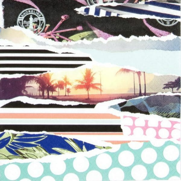 Paper Napkin - Beach Vibe