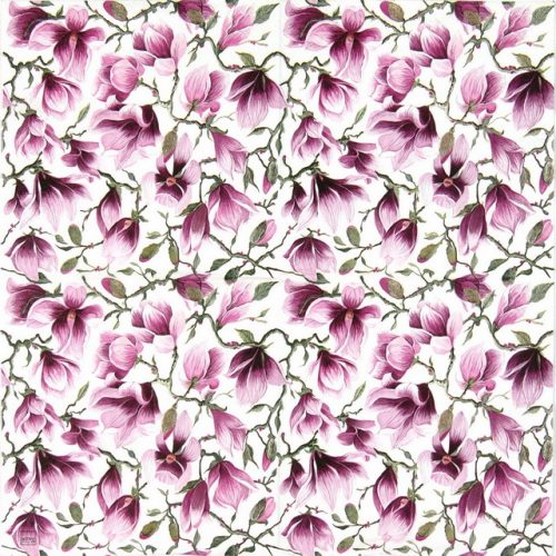 Lunch Napkins (20) - Magnolia flowers