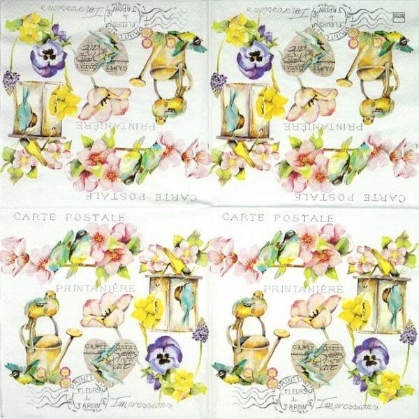 Paper Napkin - Garden Flair