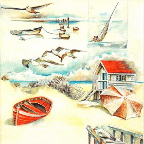 Paper Napkin - Sea Breeze