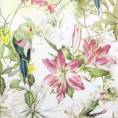 Paper Napkin - Flora and Fauna