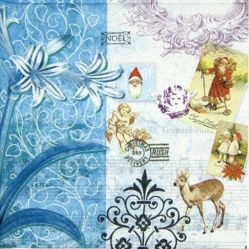 Paper Napkin - Vintage Christmas__Home-fashion_611233