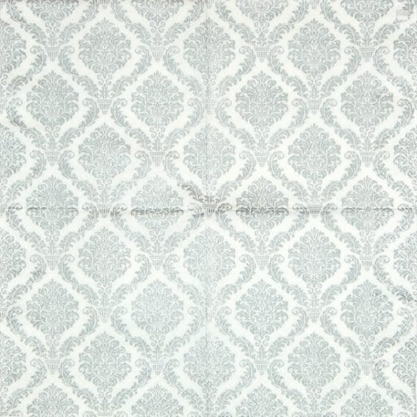 Paper Napkin - Elegant Silver