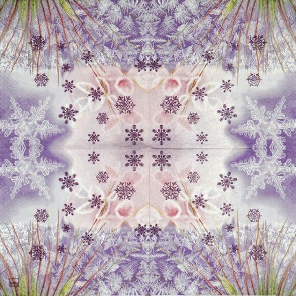 Paper Napkin - Frozen Crystale