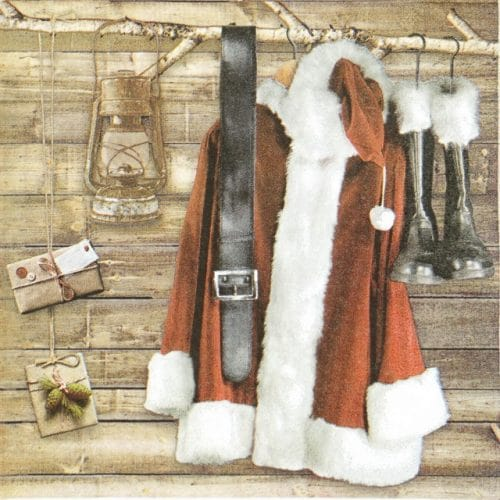 Lunch Napkins (20) - Santas Wardrobe