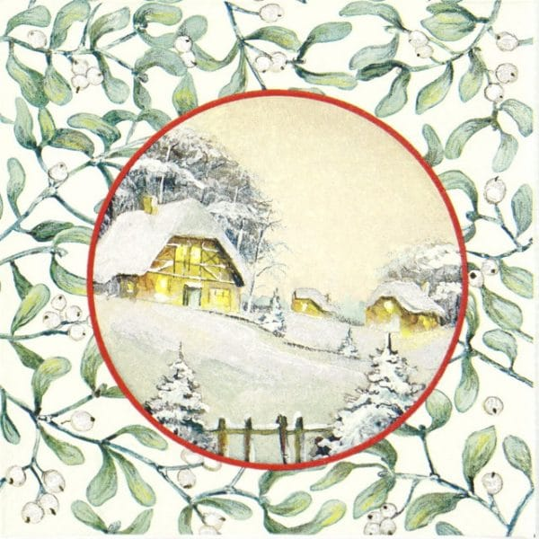 Lunch Napkins (20) - Silent Night