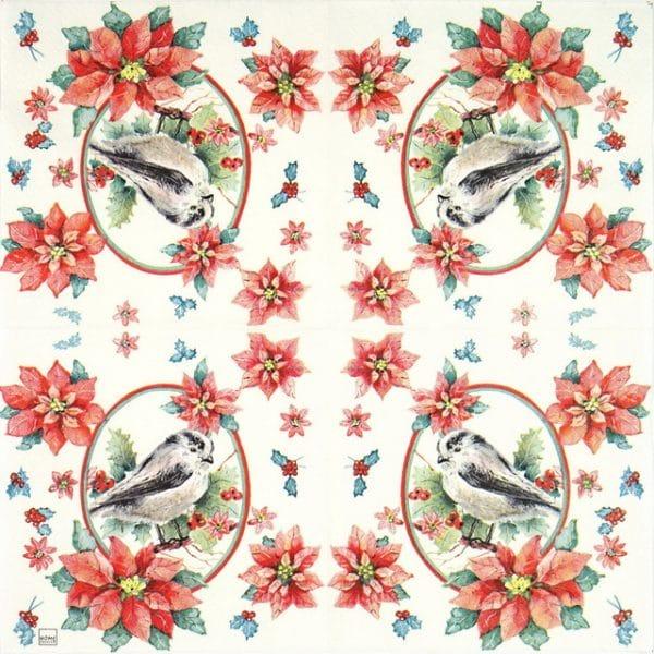 Paper Napkin - Winter Bird