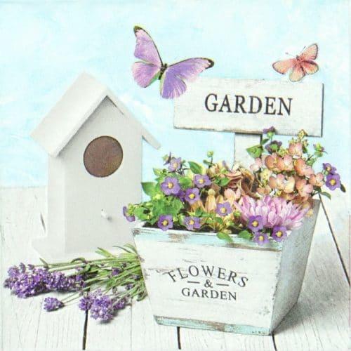 Paper Napkin - Garden & Flower