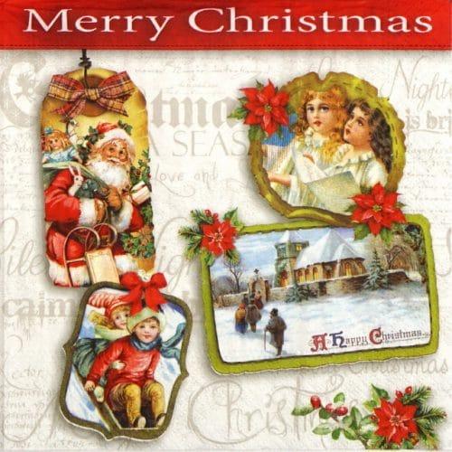Paper Napkin - Merry Christmas