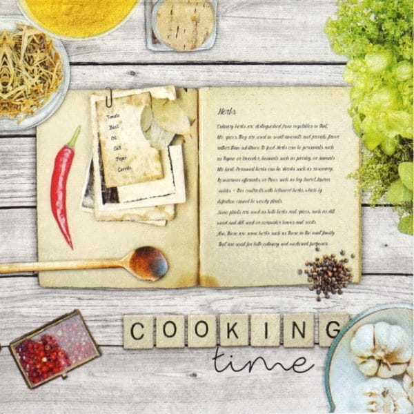 Paper Napkin - Cooking Time