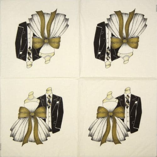 Cocktail Napkins (20) - S.E.Hagarman: Congratulation