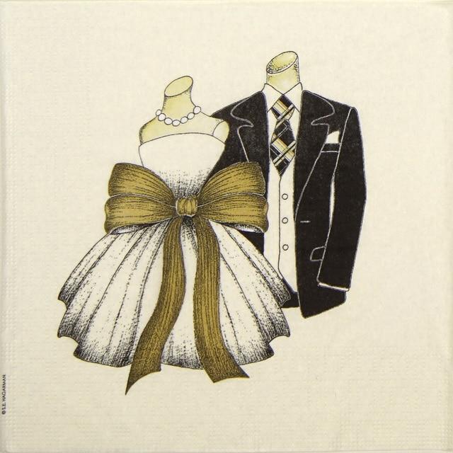 Cocktail Napkins (20) - S.E.Hagarman: Congratulation