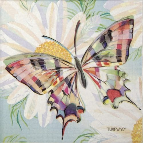 Lunch Napkins (20) - Turnowsky: Echo Butterfly