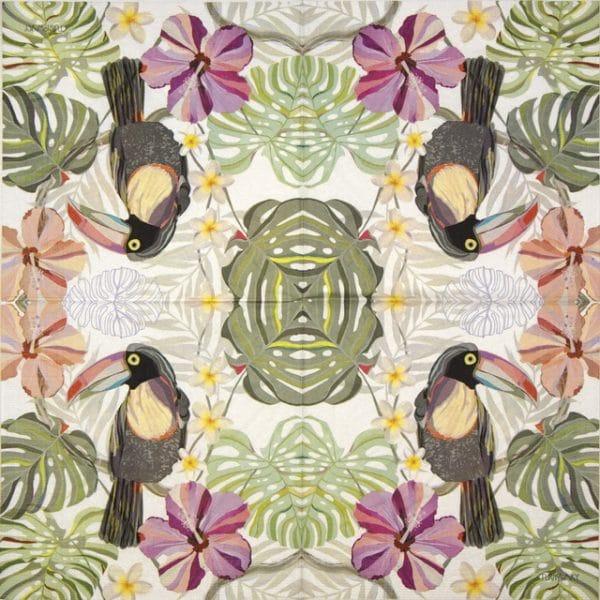 Paper Napkin - Turnowsky: Echo Tucan