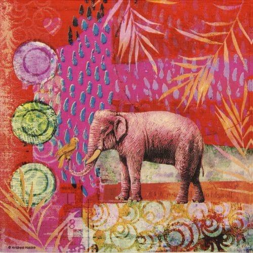 Paper Napkin - Andrea Haase: India
